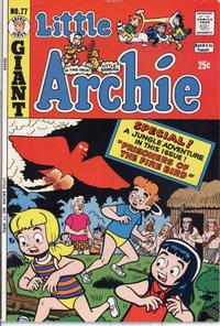 Cover Thumbnail for Little Archie (Archie, 1969 series) #77