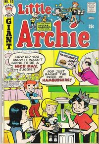 Cover Thumbnail for Little Archie (Archie, 1969 series) #82