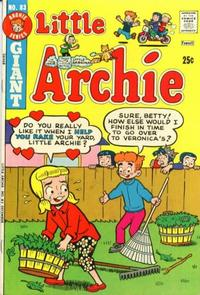Cover Thumbnail for Little Archie (Archie, 1969 series) #83