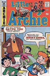 Cover Thumbnail for Little Archie (Archie, 1969 series) #102