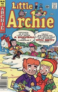 Cover for Little Archie (Archie, 1969 series) #115