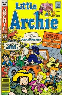 Cover for Little Archie (Archie, 1969 series) #116
