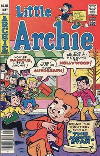 Cover for Little Archie (Archie, 1969 series) #118