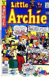 Cover Thumbnail for Little Archie (Archie, 1969 series) #124