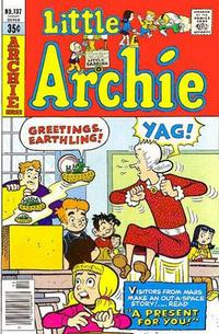 Cover Thumbnail for Little Archie (Archie, 1969 series) #137