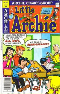 Cover Thumbnail for Little Archie (Archie, 1969 series) #143