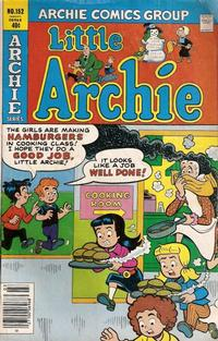 Cover Thumbnail for Little Archie (Archie, 1969 series) #152