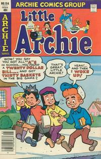 Cover Thumbnail for Little Archie (Archie, 1969 series) #154