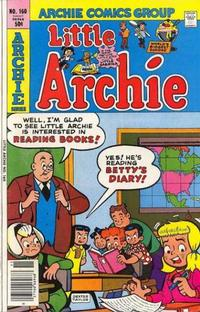 Cover Thumbnail for Little Archie (Archie, 1969 series) #160