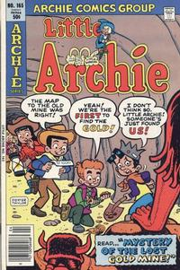 Cover Thumbnail for Little Archie (Archie, 1969 series) #165