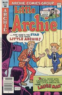Cover Thumbnail for Little Archie (Archie, 1969 series) #172