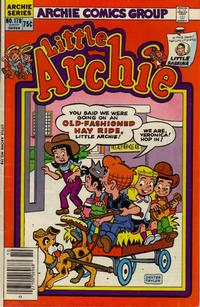 Cover for Little Archie (Archie, 1969 series) #178