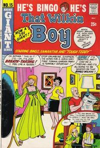 Cover Thumbnail for That Wilkin Boy (Archie, 1969 series) #15