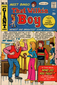 Cover Thumbnail for That Wilkin Boy (Archie, 1969 series) #18