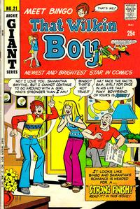Cover Thumbnail for That Wilkin Boy (Archie, 1969 series) #21