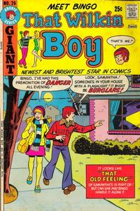 Cover Thumbnail for That Wilkin Boy (Archie, 1969 series) #26