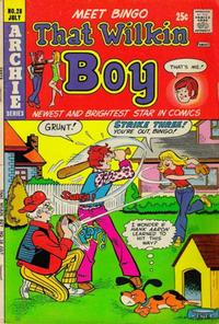 Cover Thumbnail for That Wilkin Boy (Archie, 1969 series) #28