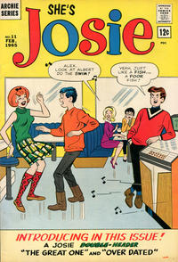 Cover Thumbnail for She's Josie (Archie, 1963 series) #11