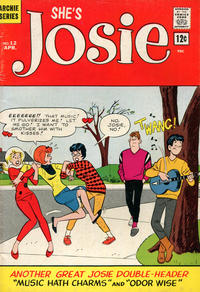 Cover Thumbnail for She's Josie (Archie, 1963 series) #12