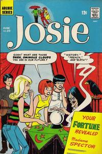 Cover Thumbnail for Josie (Archie, 1965 series) #20