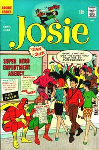 Cover Thumbnail for Josie (Archie, 1965 series) #22