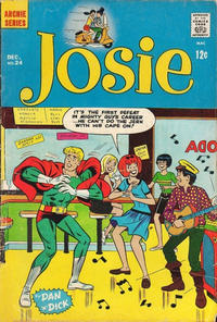 Cover Thumbnail for Josie (Archie, 1965 series) #24