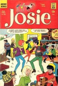 Cover Thumbnail for Josie (Archie, 1965 series) #25