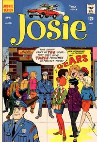 Cover Thumbnail for Josie (Archie, 1965 series) #26