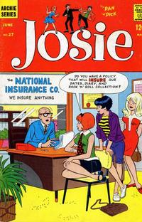 Cover Thumbnail for Josie (Archie, 1965 series) #27