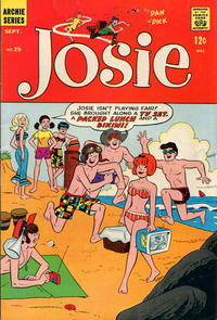 Cover Thumbnail for Josie (Archie, 1965 series) #29