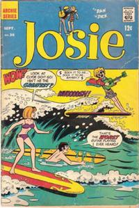 Cover Thumbnail for Josie (Archie, 1965 series) #36