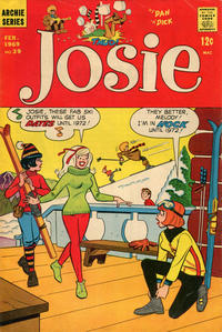 Cover Thumbnail for Josie (Archie, 1965 series) #39