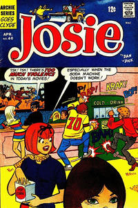 Cover Thumbnail for Josie (Archie, 1965 series) #40
