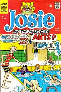 Cover Thumbnail for Josie and the Pussycats (Archie, 1969 series) #45