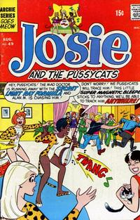 Cover Thumbnail for Josie and the Pussycats (Archie, 1969 series) #49
