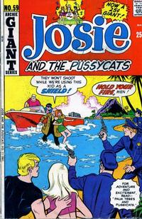 Cover Thumbnail for Josie and the Pussycats (Archie, 1969 series) #59