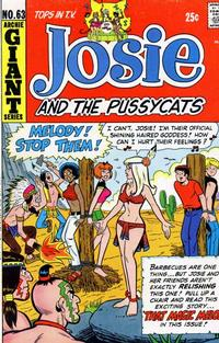 Cover Thumbnail for Josie and the Pussycats (Archie, 1969 series) #63