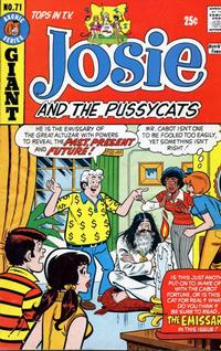 Cover Thumbnail for Josie and the Pussycats (Archie, 1969 series) #71
