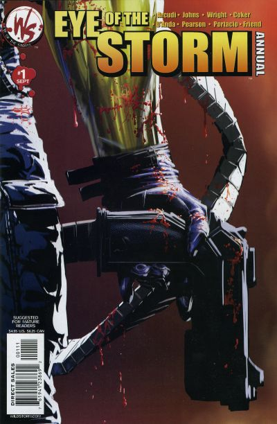 Cover for Eye of the Storm Annual (DC, 2003 series) #1