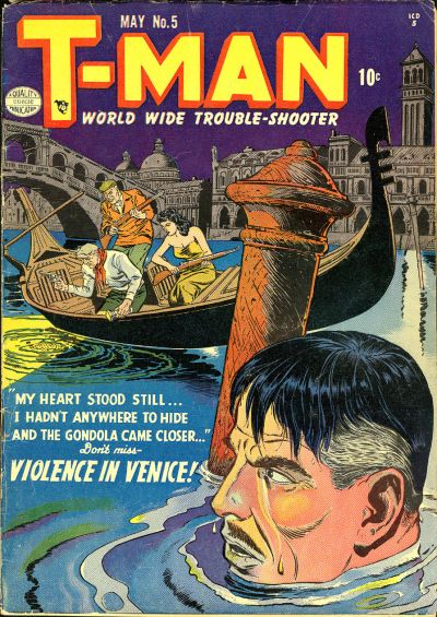 Cover for T-Man (Quality Comics, 1951 series) #5