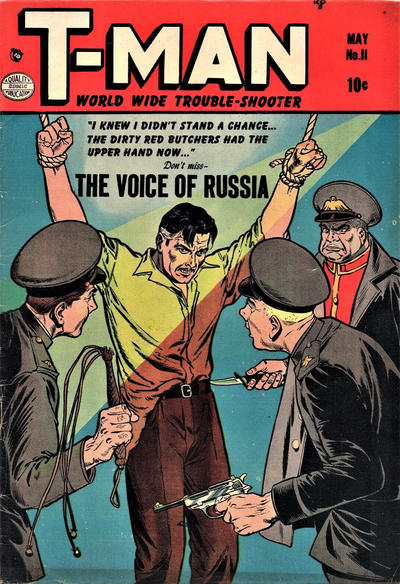 Cover for T-Man (Quality Comics, 1951 series) #11