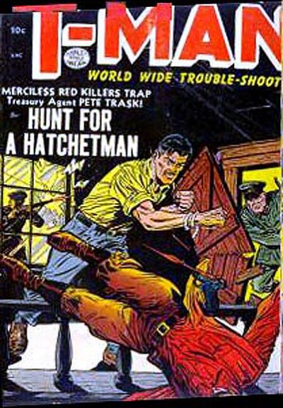 Cover for T-Man (Quality Comics, 1951 series) #16