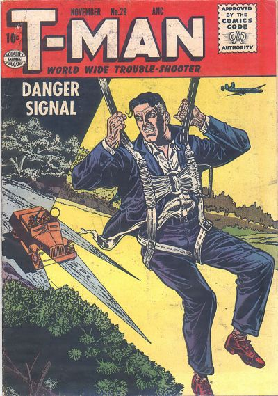 Cover for T-Man (Quality Comics, 1951 series) #29