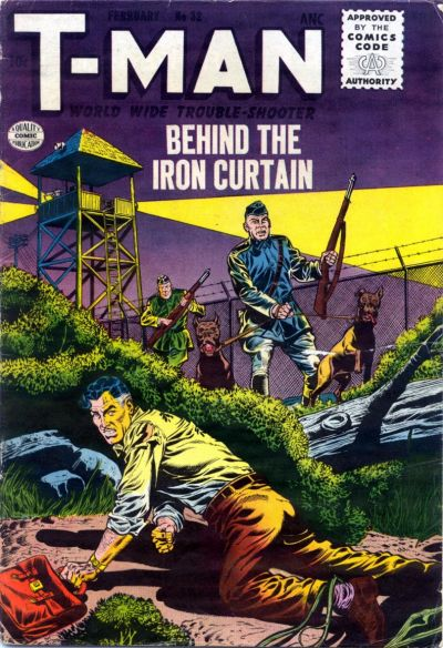 Cover for T-Man (Quality Comics, 1951 series) #32