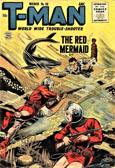 Cover for T-Man (Quality Comics, 1951 series) #33
