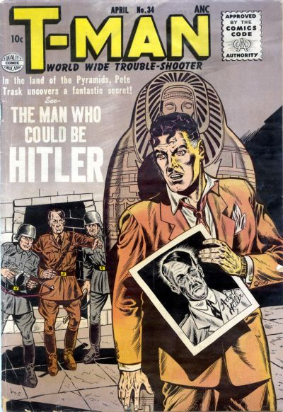 Cover for T-Man (Quality Comics, 1951 series) #34