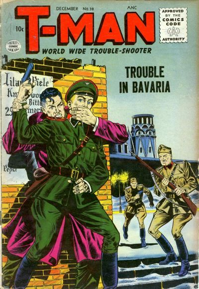 Cover for T-Man (Quality Comics, 1951 series) #38