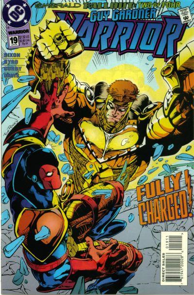 Cover for Guy Gardner: Warrior (DC, 1994 series) #19