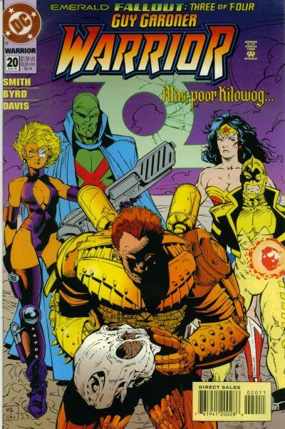 Cover for Guy Gardner: Warrior (DC, 1994 series) #20