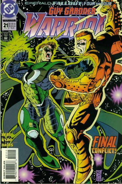 Cover for Guy Gardner: Warrior (DC, 1994 series) #21